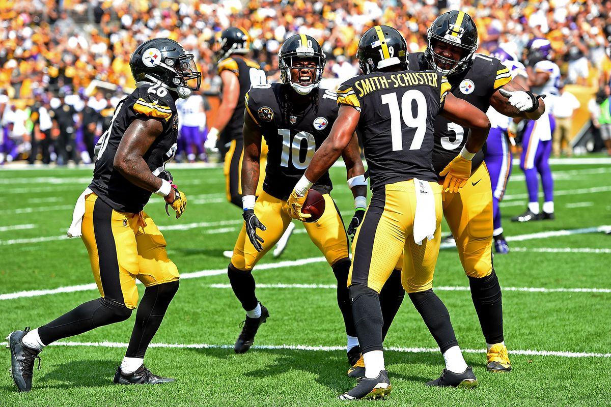 62c2b081db9 Steelers News  JuJu Smith-Schuster is only getting better