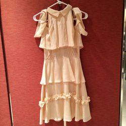 Rodarte white couture dress // size: XS // $450