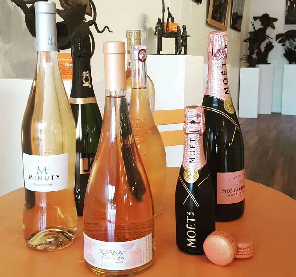 Rosé wines from Paris in a Bite