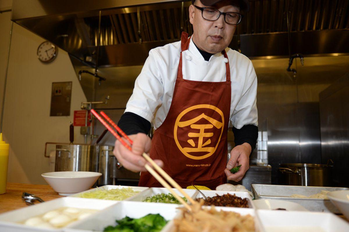 Marukin Executive Chef Masaj Sakai