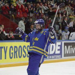 Erika Holst, Sweden, ice hockey