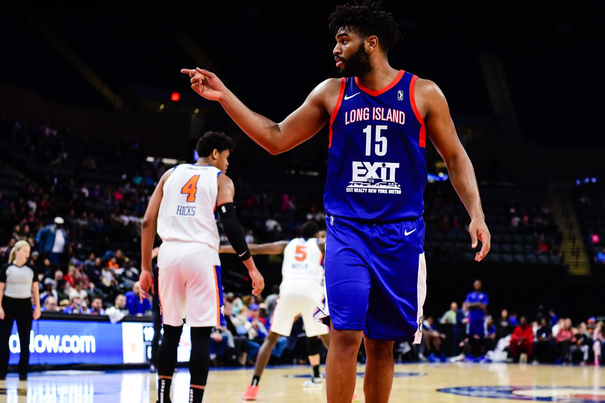 separation shoes 840bb 47c85 Alan Williams and Dzanan Musa shine in Long Island's Opening ...