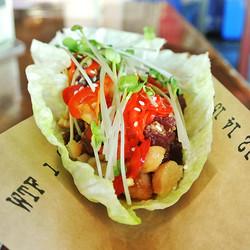 Ahi Poke Tuna Taco