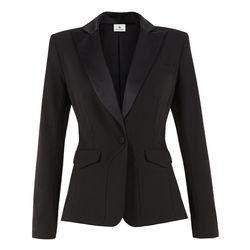 Peplum Blazer in Black, $54.99 (Available on Net-A-Porter)