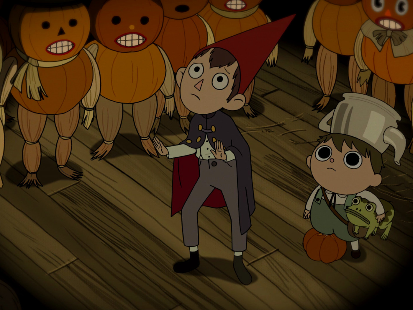 Over The Garden Wall Perfectly Capturing The Loneliness Of October Vox