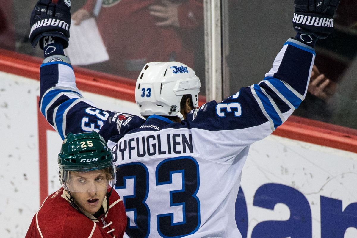 Dustin Byfuglien has been a thorn in the Wild's side in these last few years.