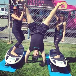 """Make 2015 about new and exciting workouts; photo via <a href=""""http://www.sweatrepublicsf.com/"""">Sweat Republic</a>/Instagram"""