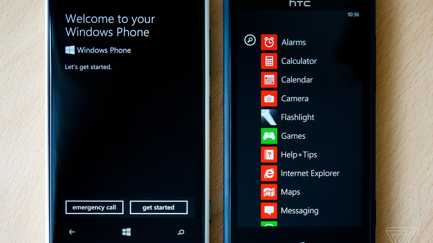 Windows Phone Was A Glorious Failure The Verge