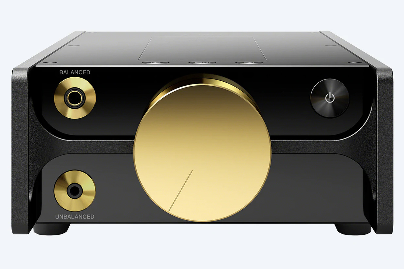sony s charging nearly 7 900 for a music player with a gold plated volume knob