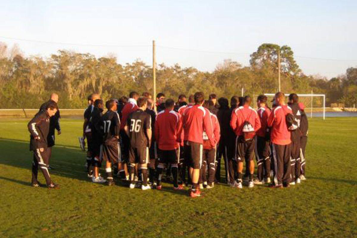 "Preseason continues for United in Bradenton, FL (via <a href=""http://www.dcunited.com"">dcunited.com</a>"