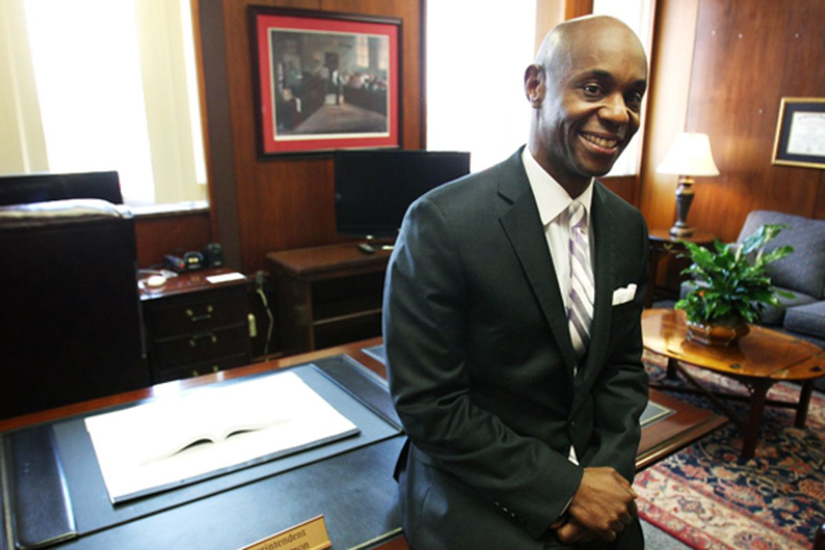 Dorsey Hopson became the leader of Shelby County Schools in 2013.