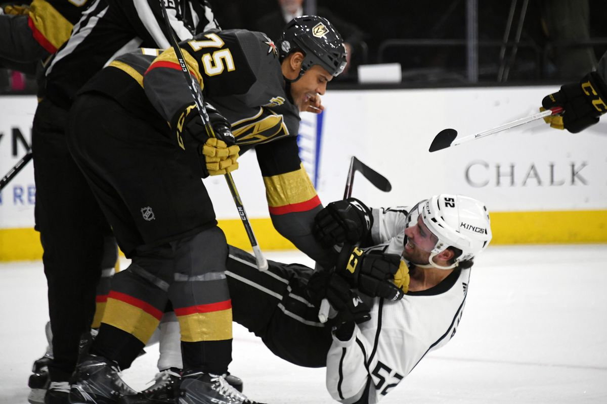 93db55efabd Photo by Ethan Miller/Getty Images. Ryan Reaves has played two games in a  Vegas Golden Knights sweater ...