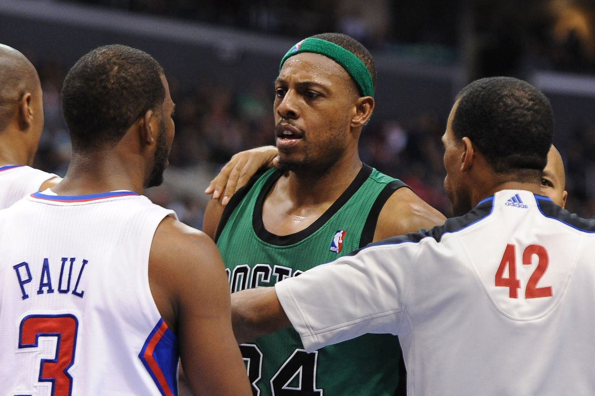 Danny Ainge discusses almost trading Paul Pierce for Chris Paul in