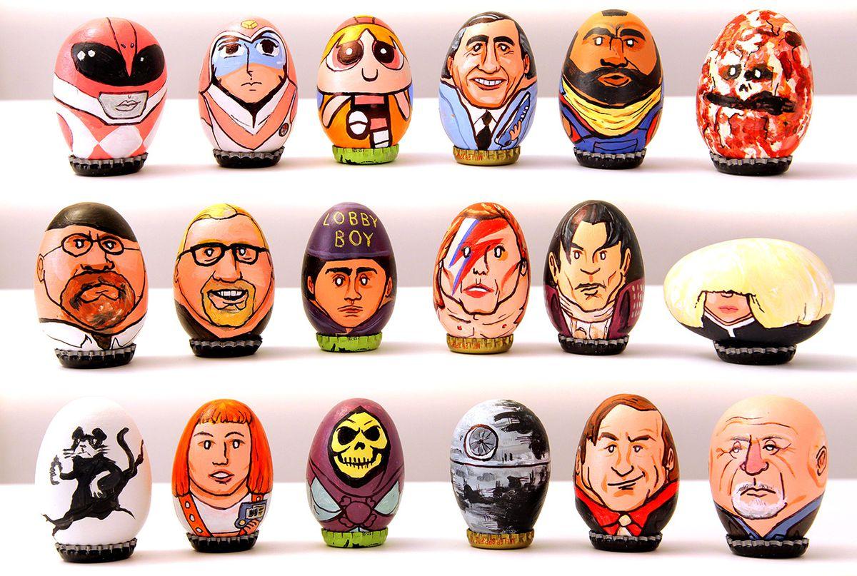 BARAK HARDLEY easter eggs