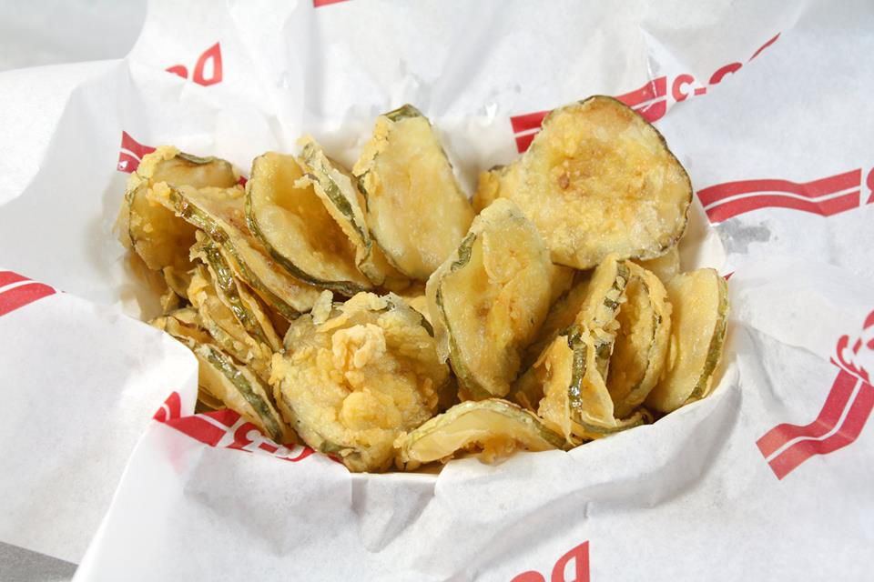 Fried Pickles from DC-3 [Photo: Facebook]