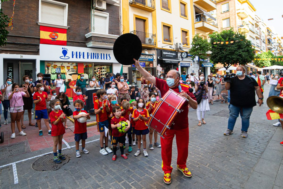 Welcome Celebrations For EURO2020 In Sevilla