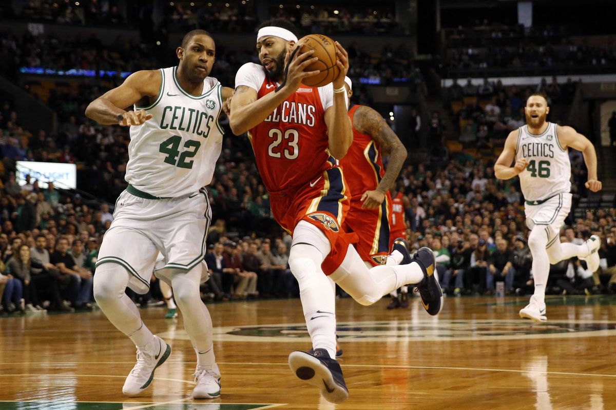 Shorthanded Celtics Visit Rondo Davis And The New Orleans