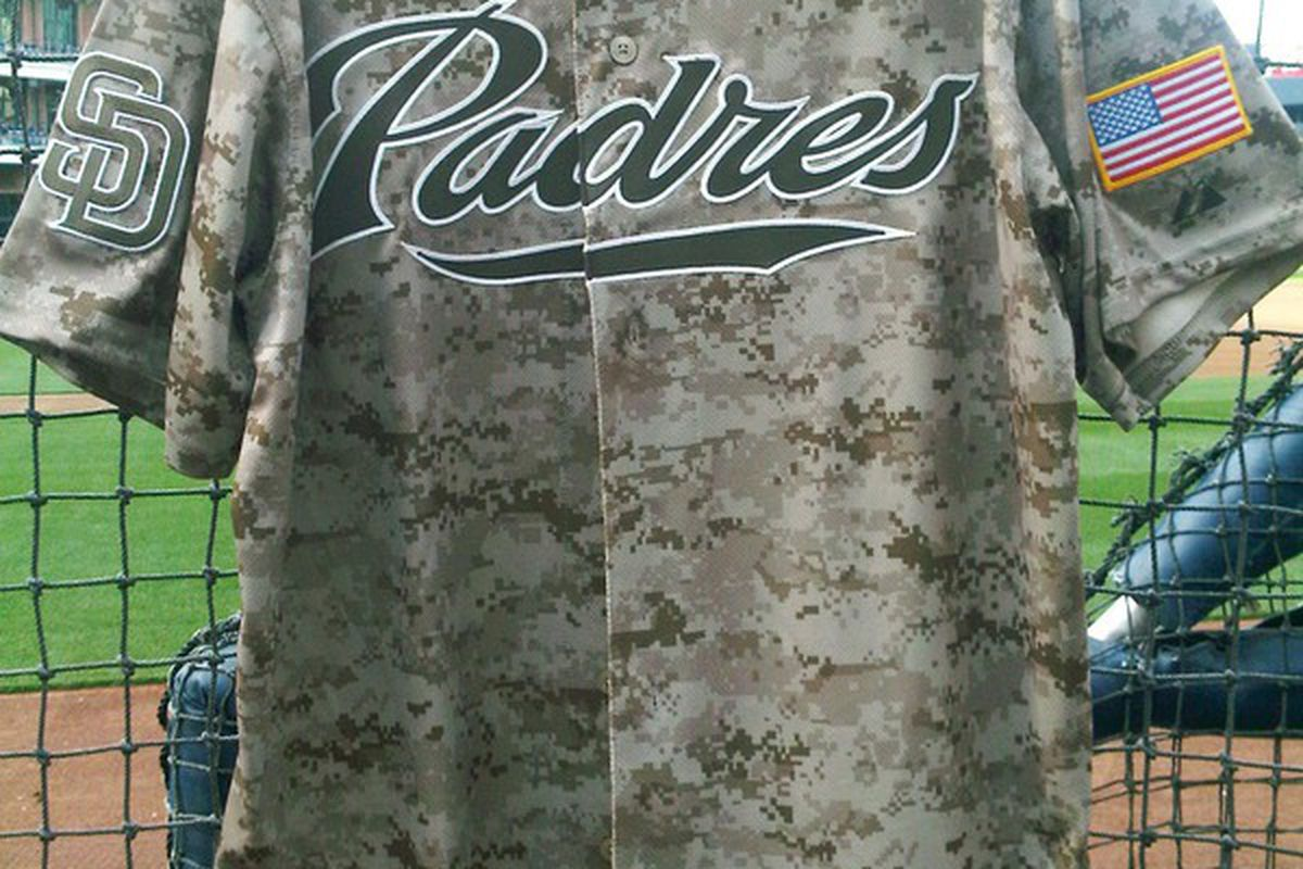 newest bab5b e233e Padres reveal new Digital Camouflage Jerseys - Gaslamp Ball