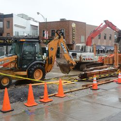11:43 a.m. Utility work at Waveland and Clark -