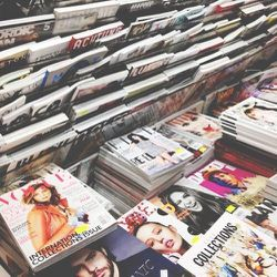 Back home in the west village,  I stopped by <b>Casa Magazines</b> to check out the new September covers and stock up on some weekend reading. If you haven't been there, GO! They have over 5,000 different publications.