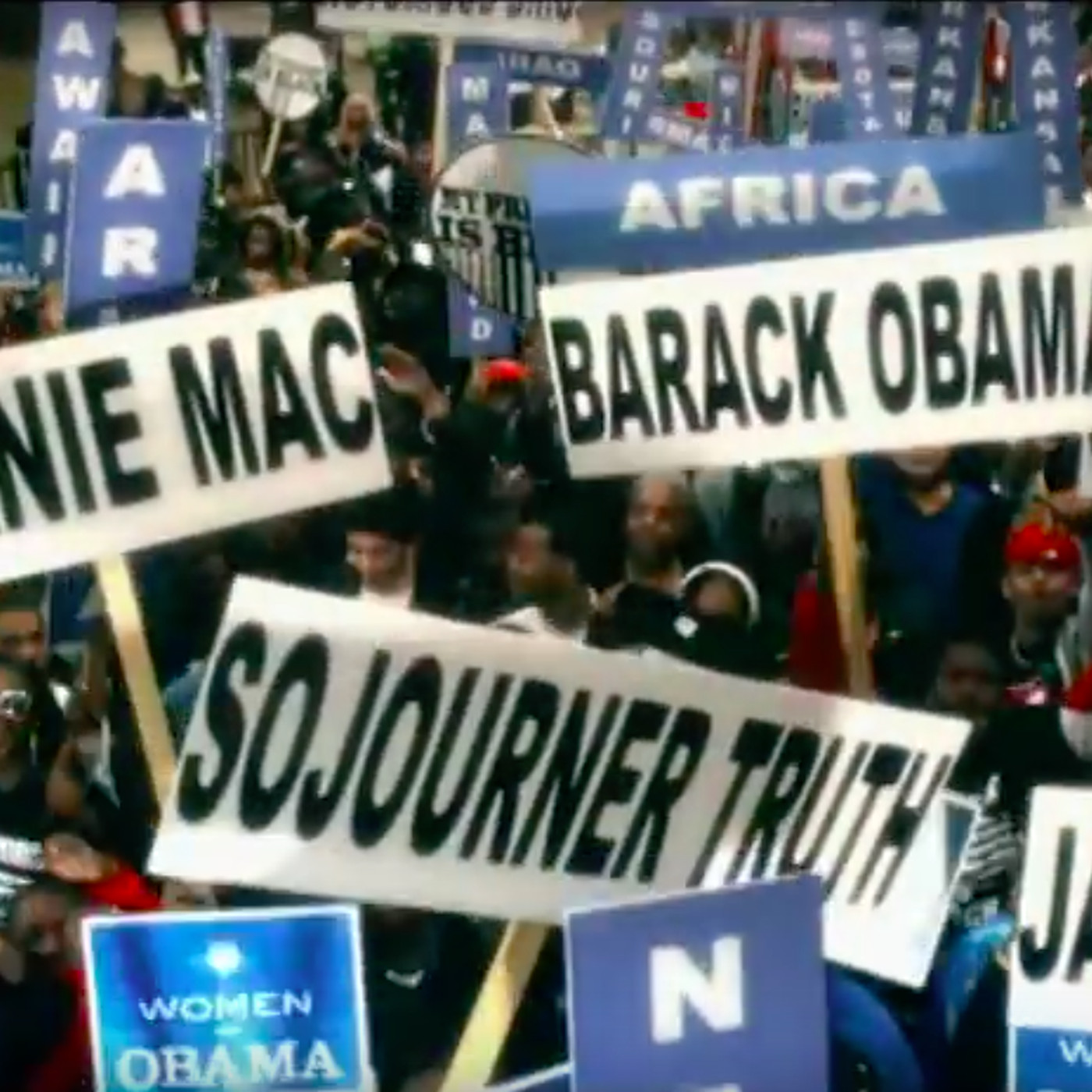 Barack Obama /'08 Official Hope Change Campaign Rally Sign Placard President 2008