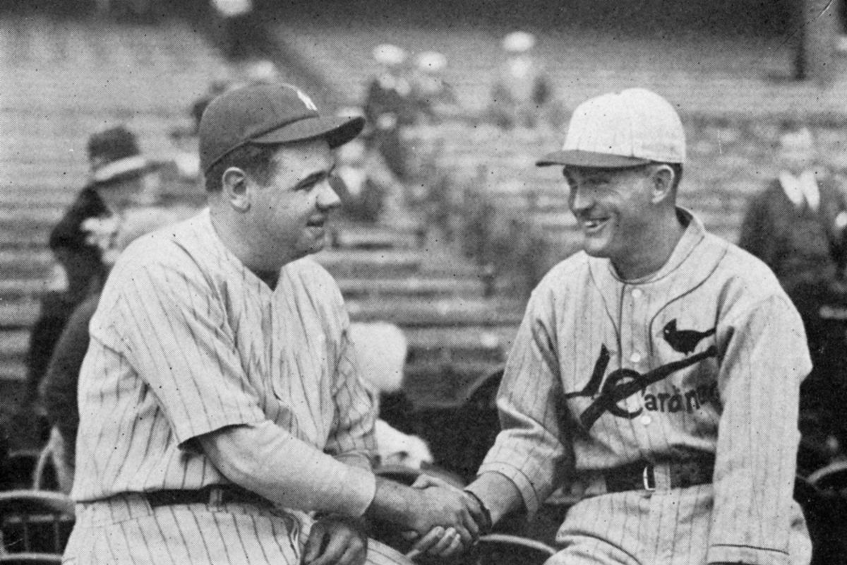 Babe Ruth Rogers Hornsby 1926 World Series