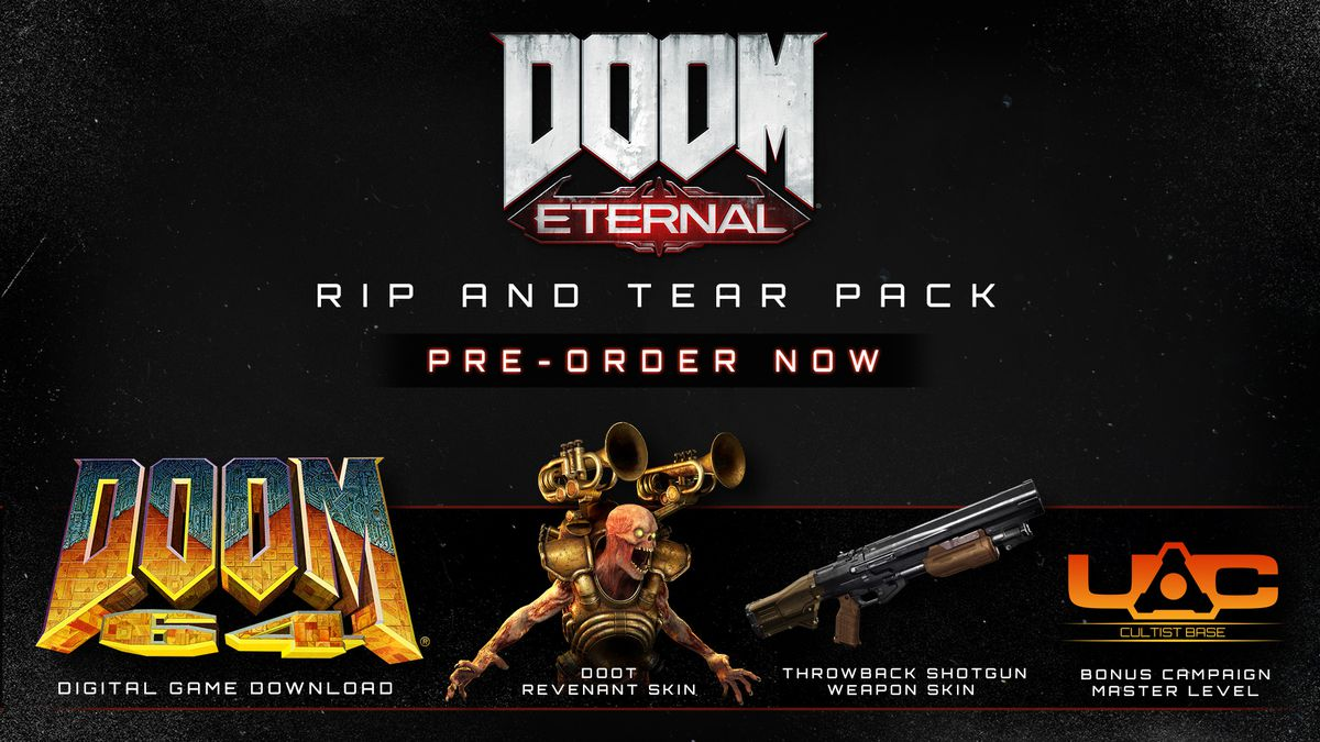 Doom Eternal Pre Order Bonuses Collector S Edition Release Date