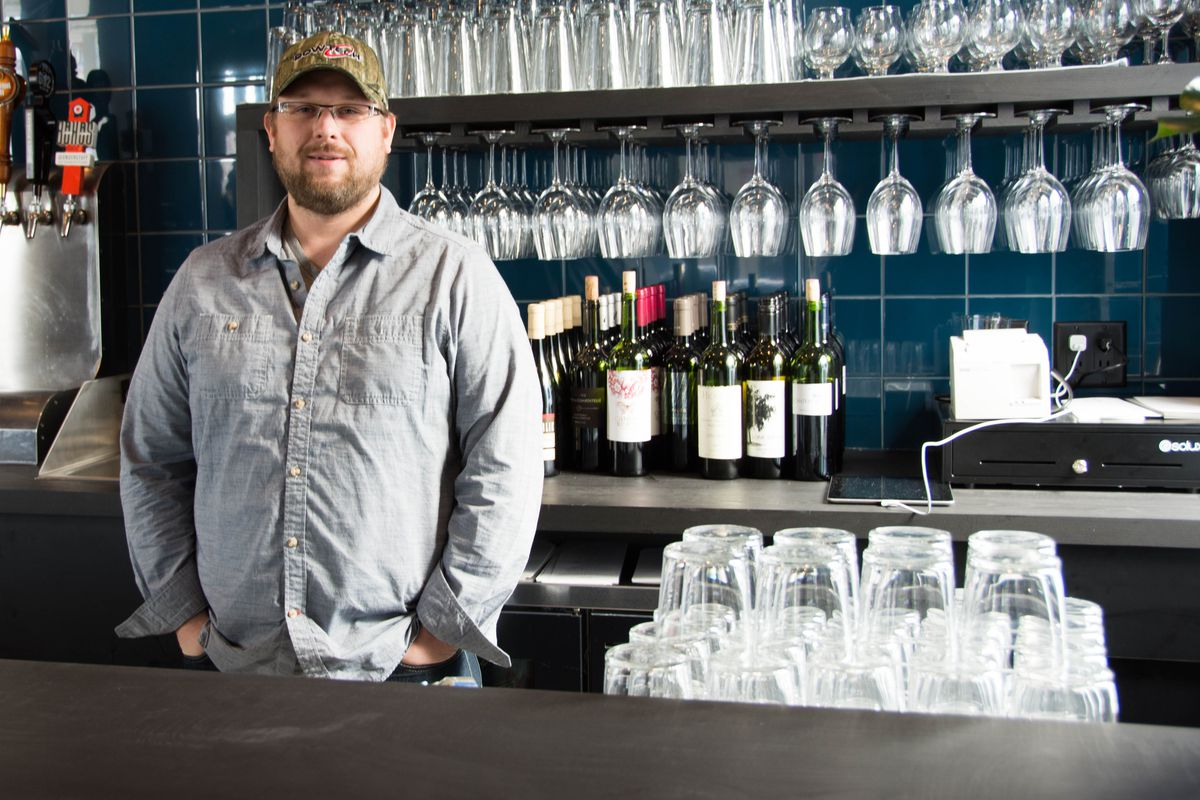 Don't have a dinner date? This guy is available. Chef Erick Harcey of Upton 43