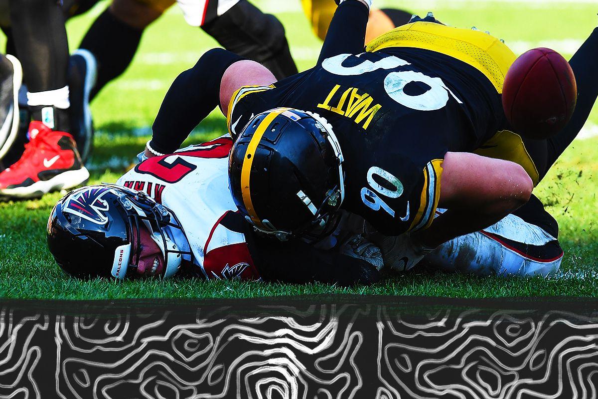on sale 8667d 050b5 T.J. Watt is the J.J. Watt of the Steelers. NFL QBs should ...