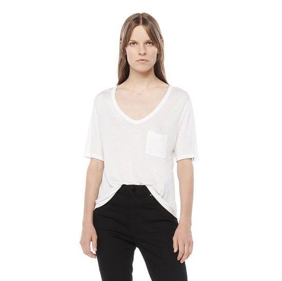 a T by Alexander Wang white T-shirt