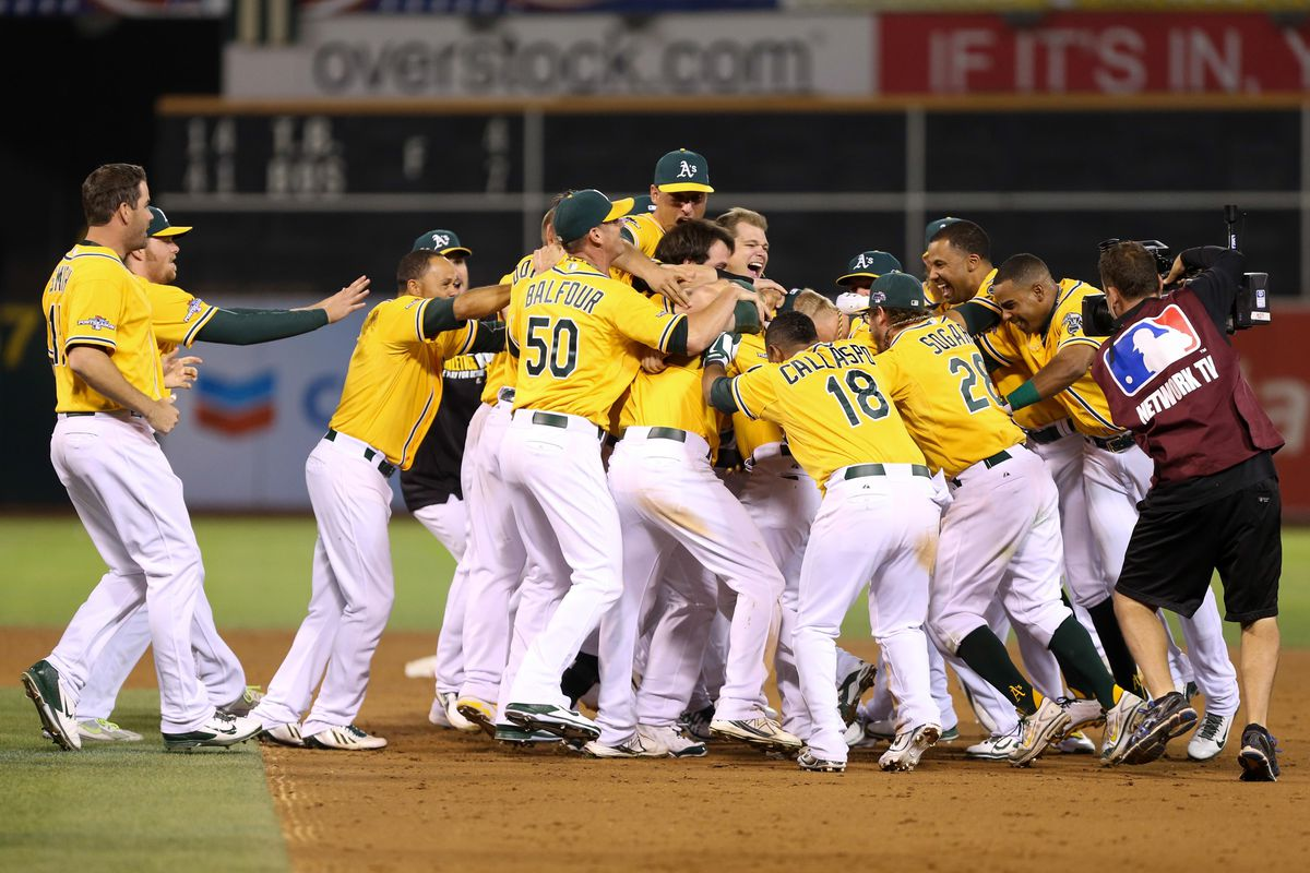 b3ff10777 Post-Season Walk-offs An Oakland A's Tradition - Athletics Nation