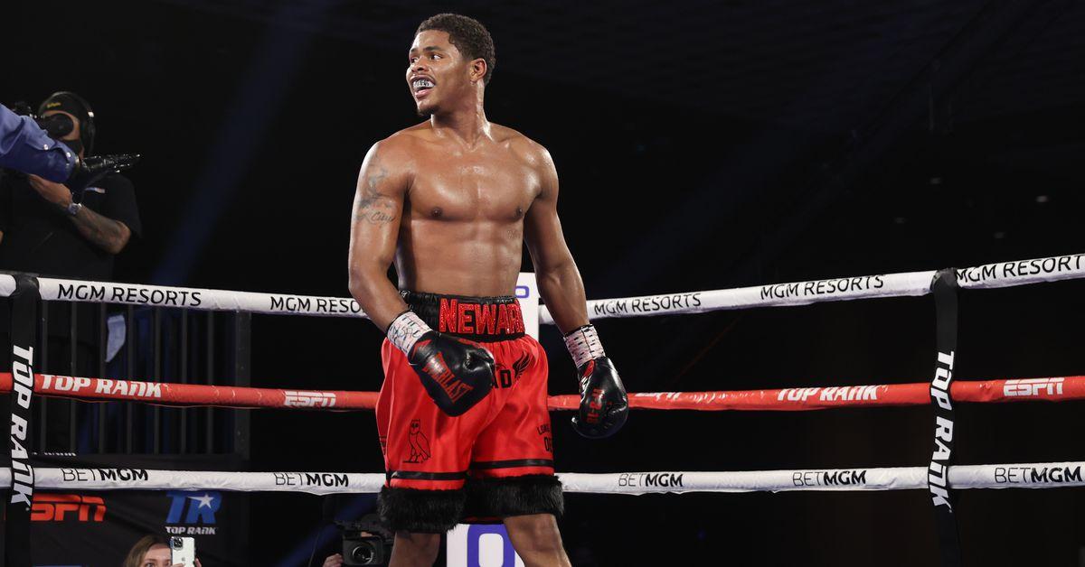 What time will Shakur Stevenson vs. Jeremiah Nakathila fight start on June 12th