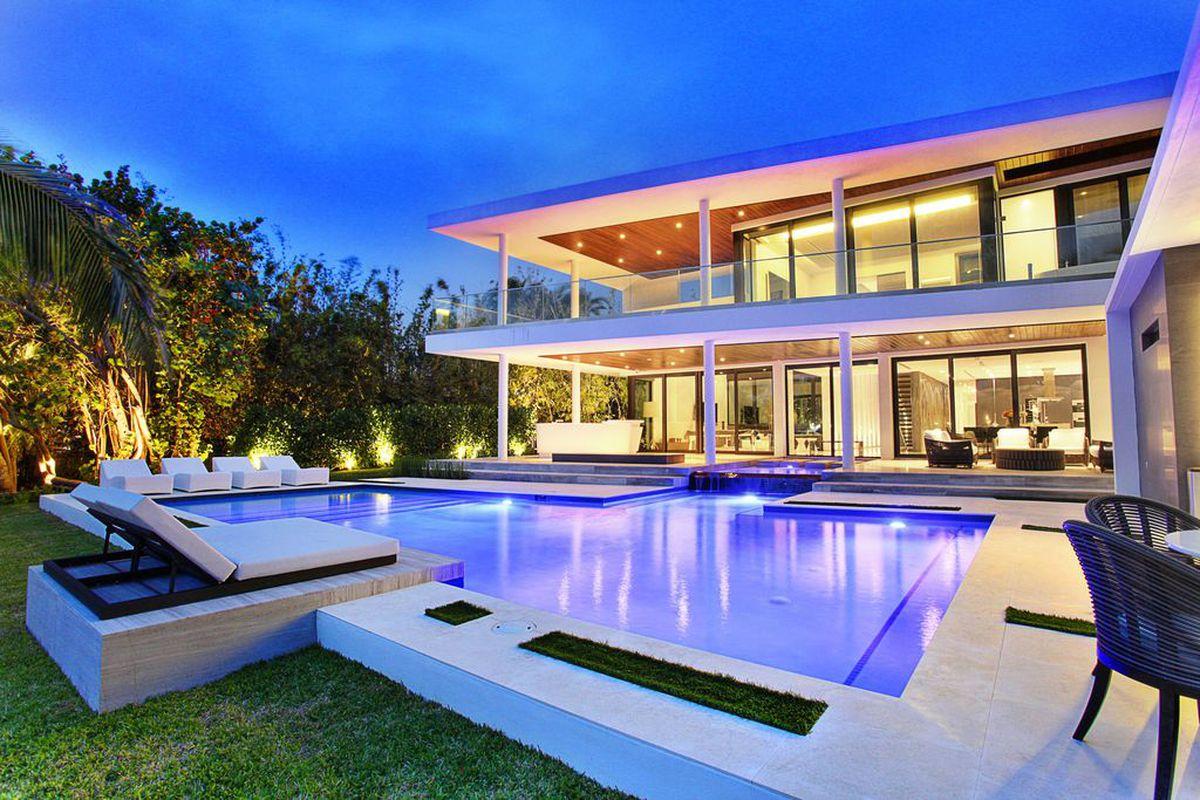 Hassan Whiteside's home in Miami Beach