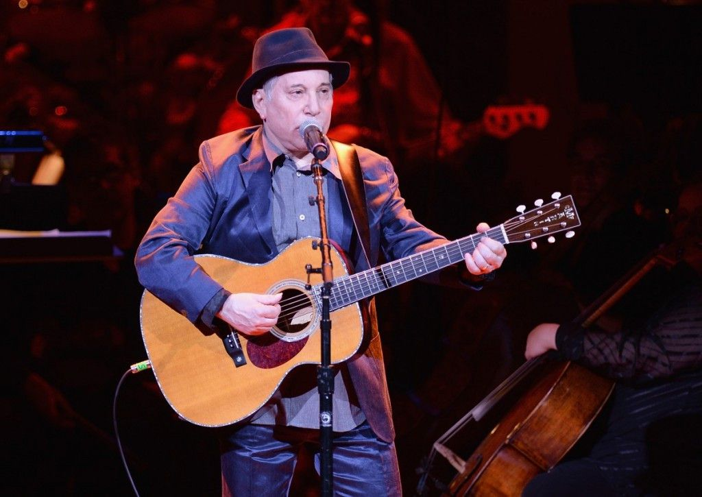 Paul Simon (pictured at Carnegie Hall in 2014) makes his Ravinia festival debut this summer. |Photo by Jamie McCarthy/Getty Images