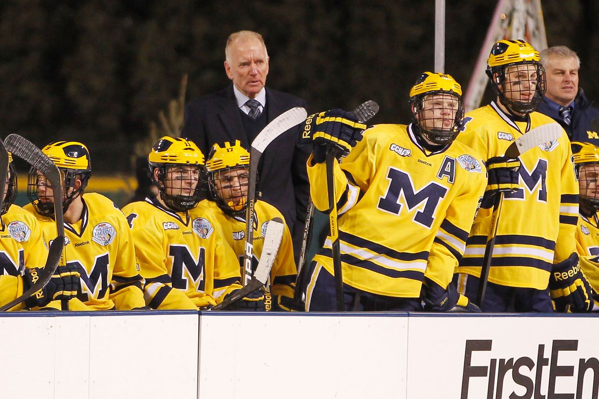 Red Berenson and the Wolverines lost a recruit to the OHL's London Knights.