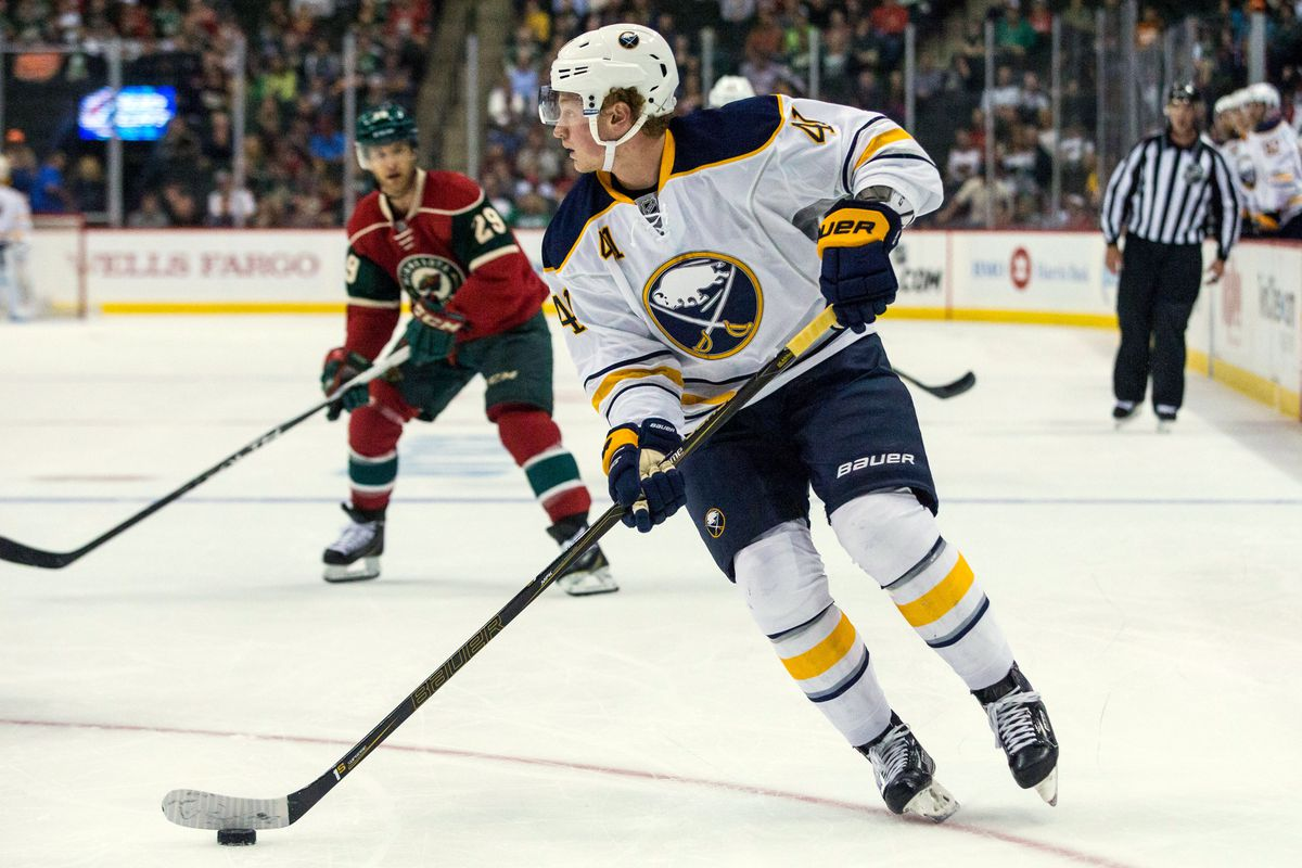 Jack Eichel led the Sabres' comeback with a goal and assist in the third period.