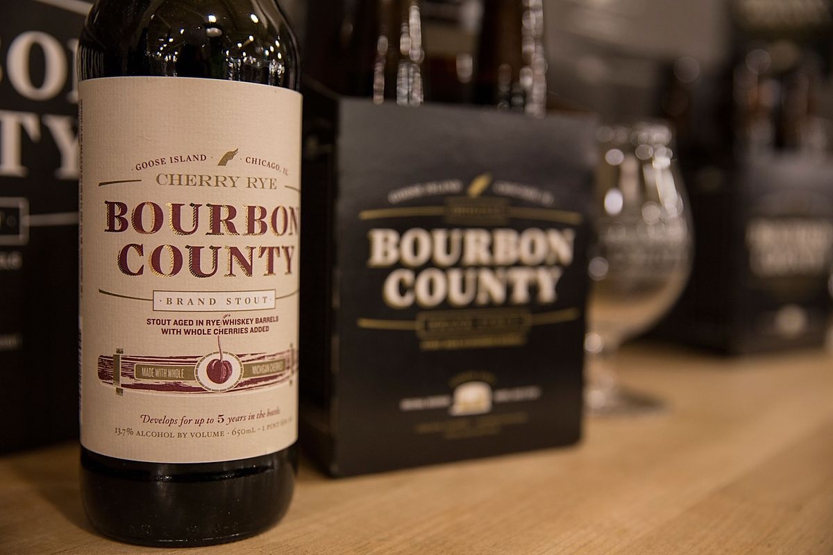 Goose Island Bourbon County Brand Barrel-Aged Beers Black Friday Launch Event - Austin