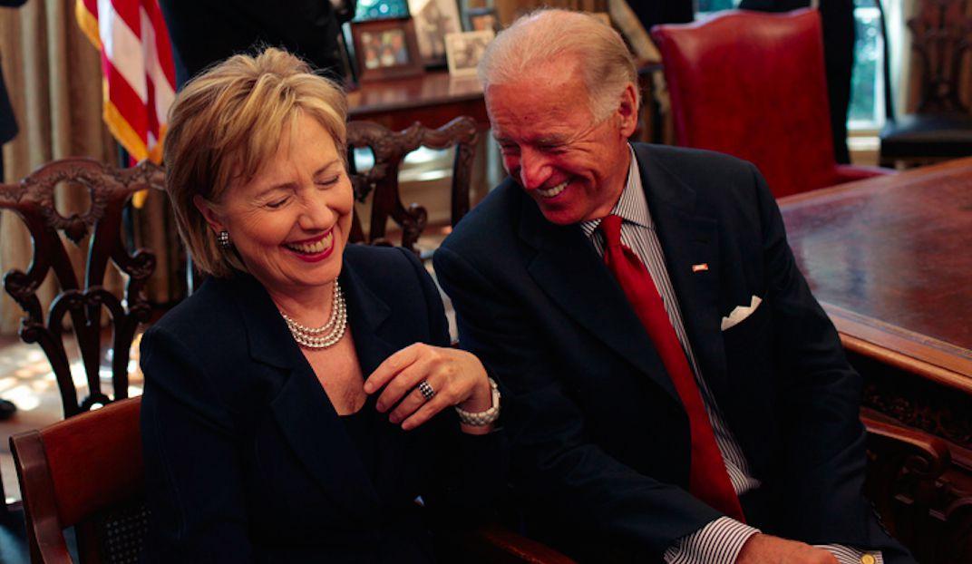 Biden and Hillary