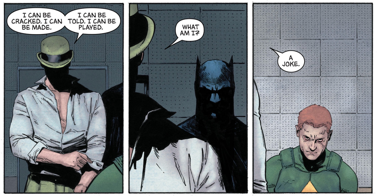 The Riddler, Batman and Kite Man in Batman #30, DC Comics (2017)
