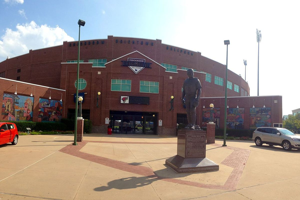 Chickasaw Bricktown Ballpark in Oklahoma City.