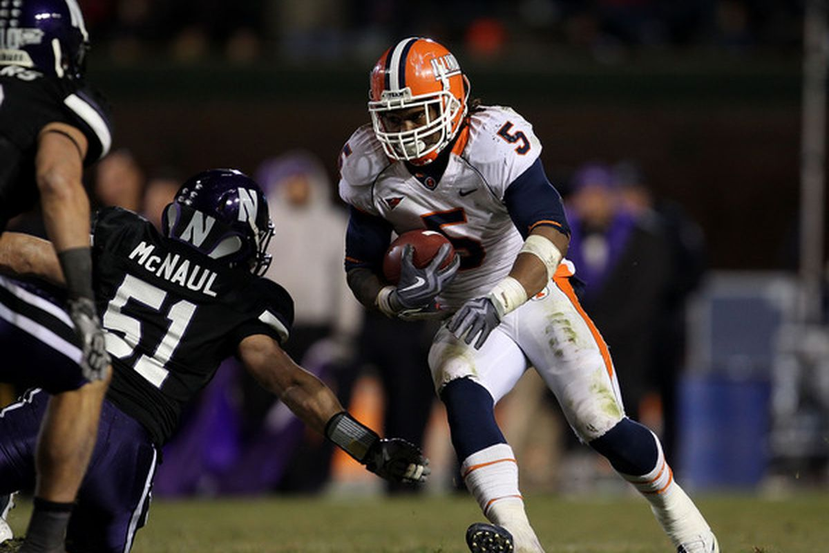 Mikel Leshoure will be the difference maker for the Illini in the Texas Bowl.