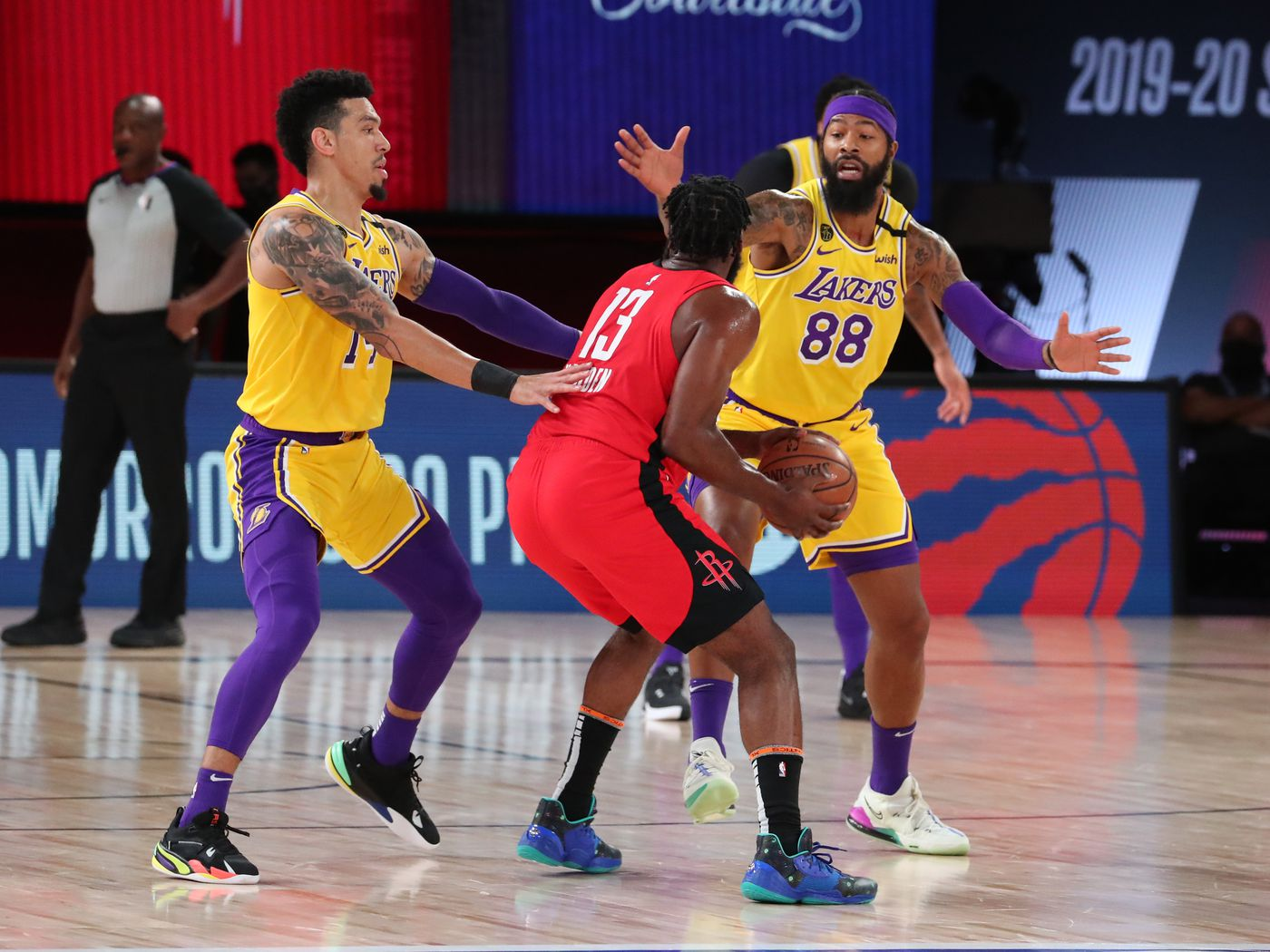 Nba Playoffs Lakers Vs Rockets Preview Starting Time And Tv Schedule Silver Screen And Roll