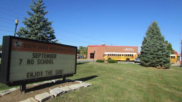South Grove Intermediate School raised its grade to an A last year.