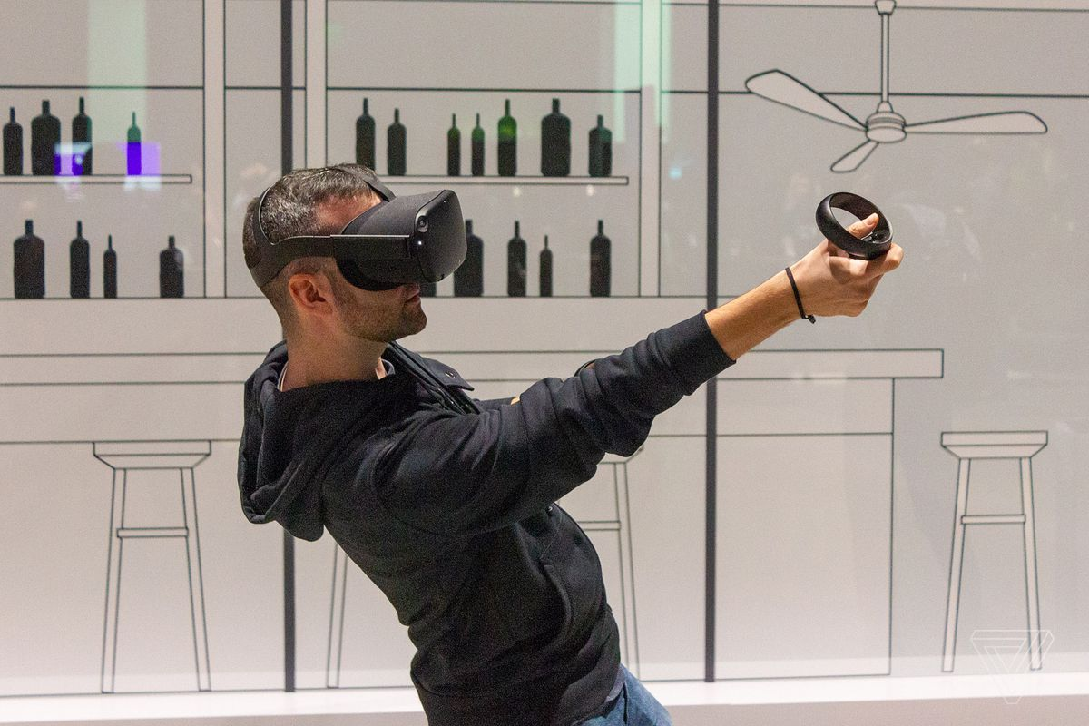 Oculus' Quest is the first true VR game console