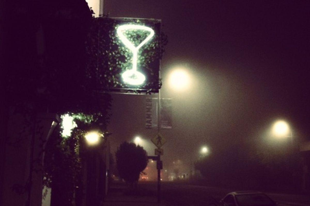 Outside The Mandrake, Culver City.