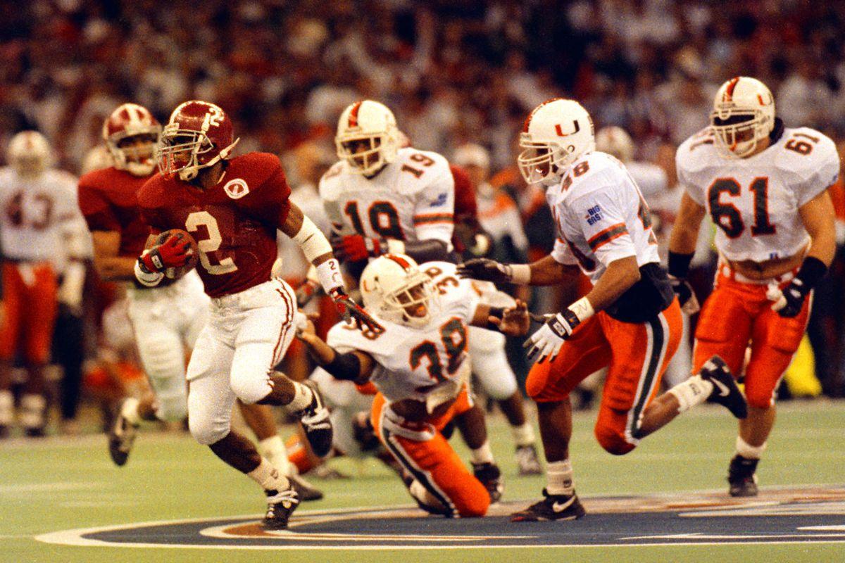 1993 Sugar Bowl: Alabama Crimson Tide v Miami Hurricanes