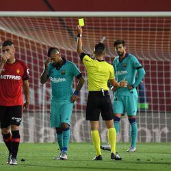 Vidal gets booked