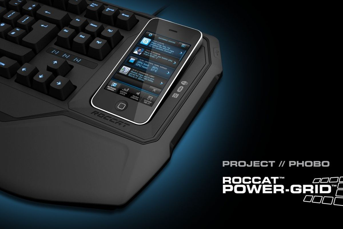 Gallery Photo: Roccat Power Grid and Project Phobo press pictures