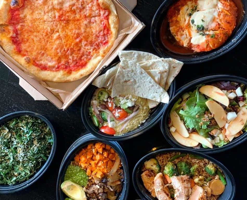 Pizza, salads, chicken dishes and healthy sides available for pickup at True Food Kitchen.