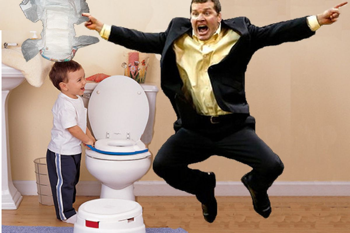 Brands Conquers Potty Training